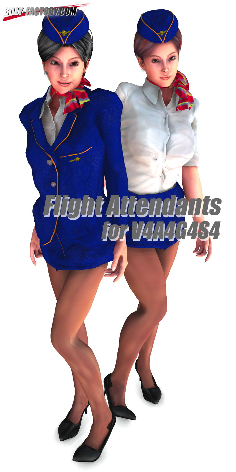 Flight Attendants for VAGS4