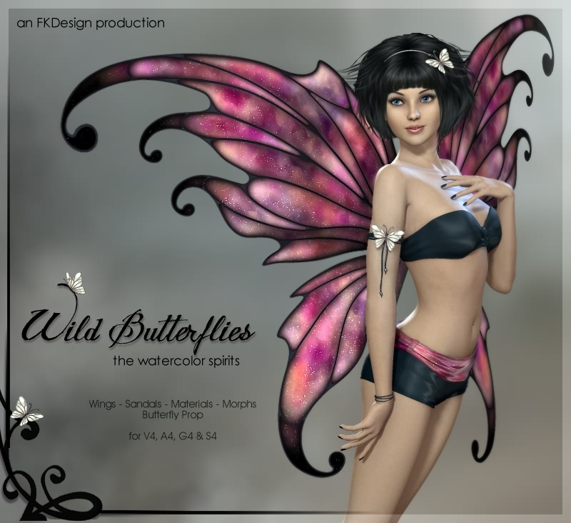 Wild Butterflies for V4
