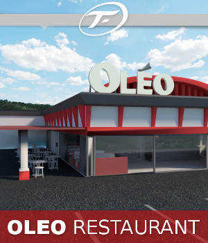 OLEO Restaurant 3D Models TruForm