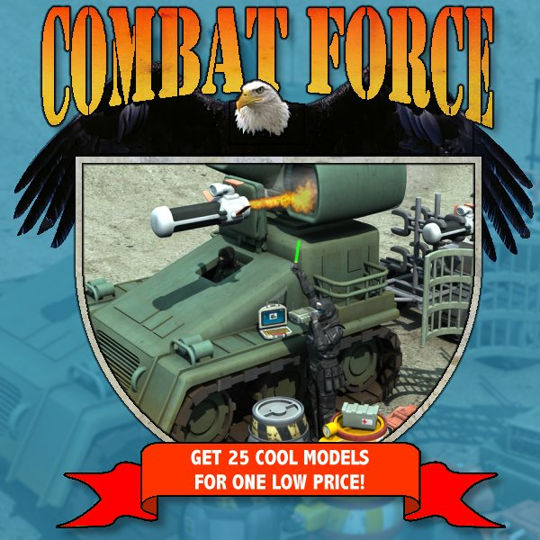 Combat Force 1 by mrsparky