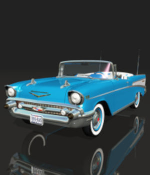 CHEVY BEL AIR 1957 3D Models 3DClassics