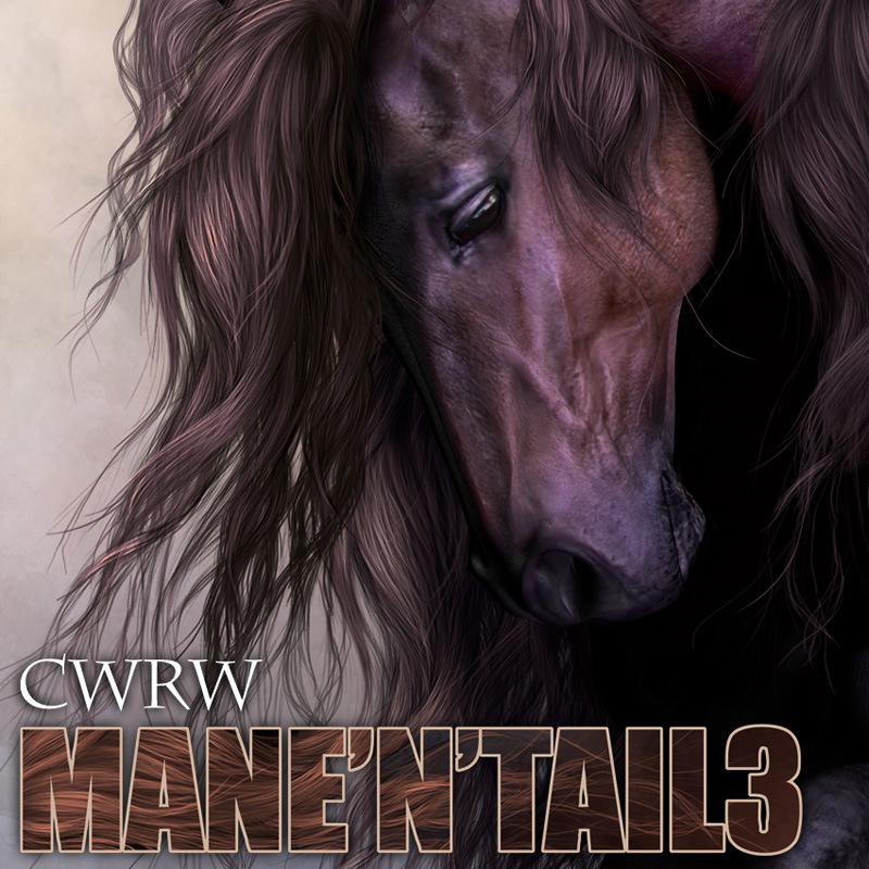 CWRW Mane-N-Tail Pack 3 by cwrw