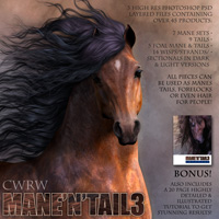 CWRW Mane-N-Tail Pack 3 image 2