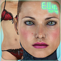 Ellie for V4 3D Figure Essentials _Fenrissa_