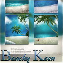 Beachy Keen Backgrounds! image 1