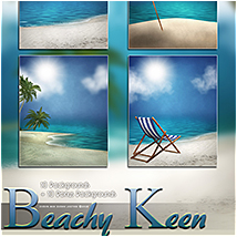 Beachy Keen Backgrounds! image 2