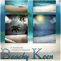 Beachy Keen Backgrounds! image 3