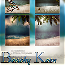 Beachy Keen Backgrounds! image 4