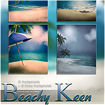 Beachy Keen Backgrounds! image 5