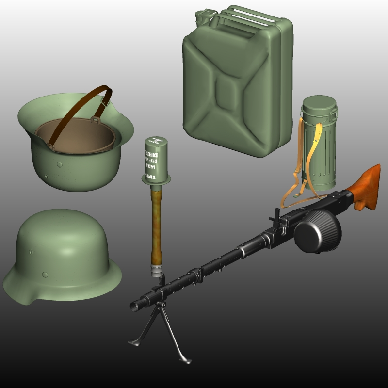 WW2 GERMAN ARMY KIT