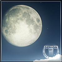 BACKGROUNDZ The Moon 2D Graphics outoftouch