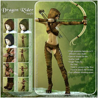 Dragon Rider Outfit image 3
