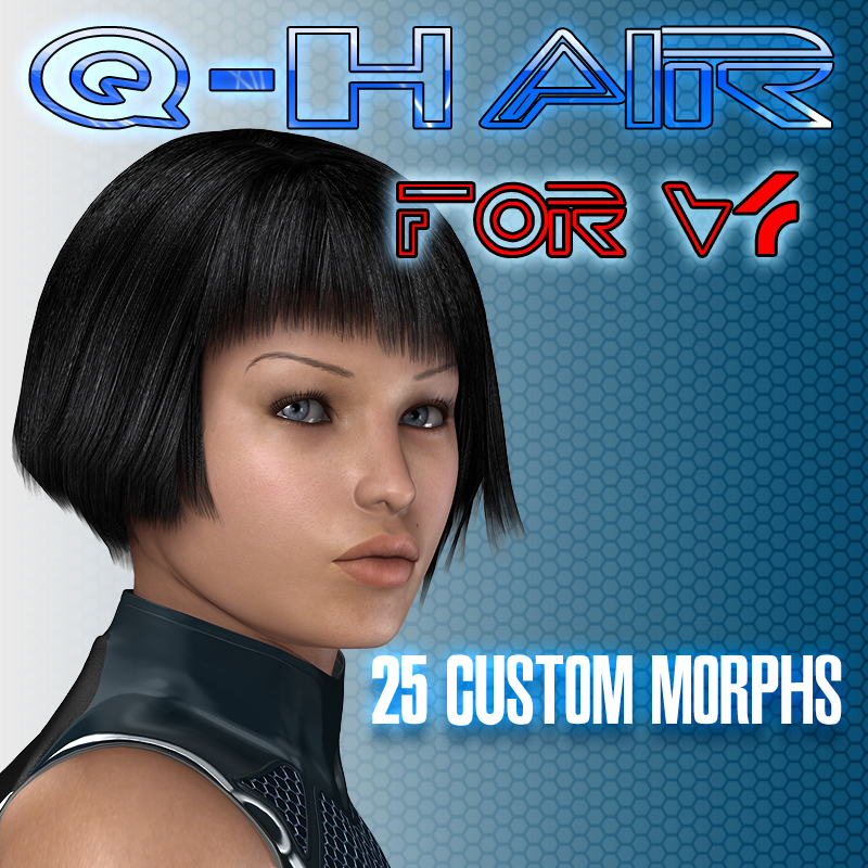 Slide3D Q Hair for V4