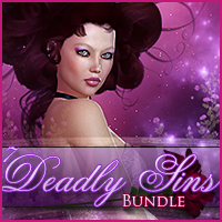 7 Deadly Sins Bundle 2D And/Or Merchant Resources Props/Scenes/Architecture Characters Sveva