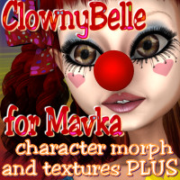 ClownyBelle for Mavka Themed Props/Scenes/Architecture Characters Accessories Stand Alone Figures JudibugDesigns