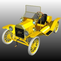 FORD T SPEEDSTER 1916 Themed Props/Scenes/Architecture Transportation Nationale7