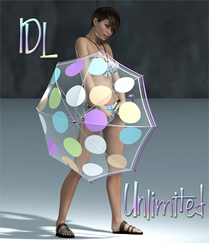 IDL Unlimited 3D Models 3D Figure Essentials Lights OR Cameras SaintFox