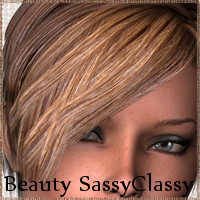 Beauty SassyClassy Hair 3D Figure Essentials Prematos
