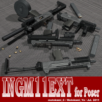 INGM11EXT for Poser 3D Models motokamishii