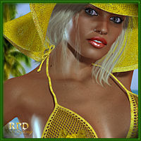Swinging 70s for Hongyu's Bikini 3D Figure Essentials 3D Models renapd