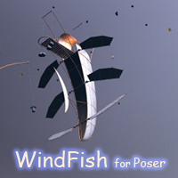 WindFish 3D Models 1971s