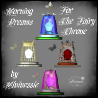 Morning Dreams for The fairy Throne by Mininessie  mininessie