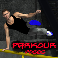 Parkour Poses 3D Figure Essentials apcgraficos