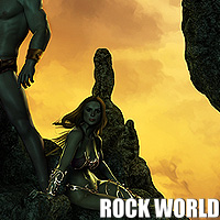 Rock World 3D Models designfera