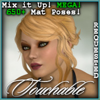 Touchable Loose Hair Hair Themed -Wolfie-