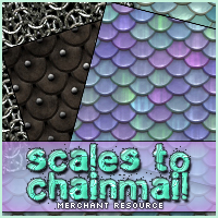 Merchant Resource: Scales to Chainmail 2D Graphics Merchant Resources Sveva