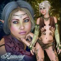 Rainsong Characters Themed Freja