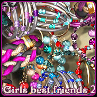 Girls best friends 2 3D Figure Assets SWAM