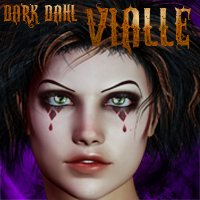Dark Dahl Vialle 3D Figure Essentials gypsyangel