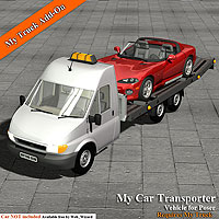 My Car Transporter 3D Models Simon-3D