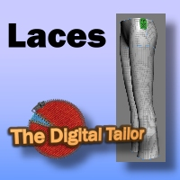 The Digital Tailor Laces Set Tutorials : Learn 3D Fugazi1968