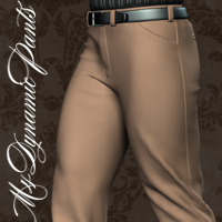 M4 Dynamic Pants 3D Figure Essentials cocco