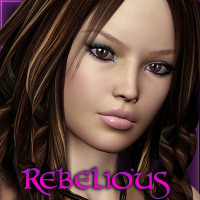Rebelious Josie 3D Figure Essentials rebelmommy