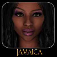 Jamaica 3D Figure Essentials 3D Models reciecup