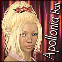 Apollonia Hair 3D Figure Assets Mairy