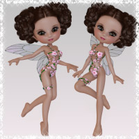 Flower Faeries - Poses for Cookie 3D Figure Essentials wenke