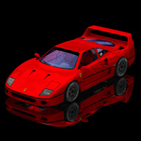 Ferrari F-40 (for Poser) by VanishingPoint