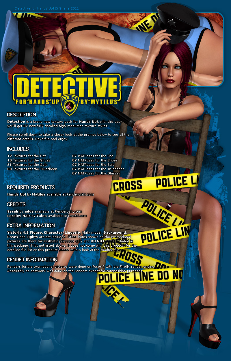 Detective for Hands Up!