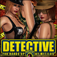 Detective for Hands Up! Clothing ShanasSoulmate