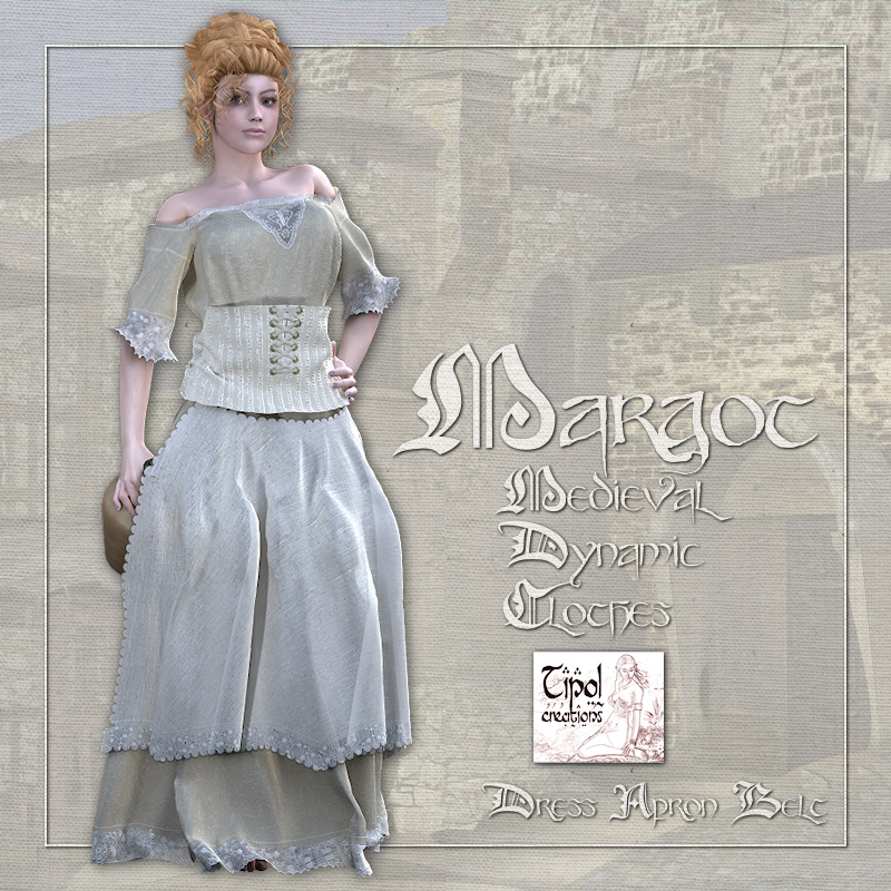 Margot Medieval Clothes