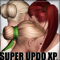 Super Updo XPansion Pack 3D Models 3D Figure Assets outoftouch