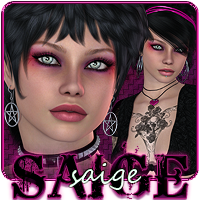 SV7 Saige 3D Figure Essentials Seven