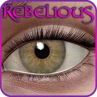 Rebelious Lashes V4 3D Figure Essentials rebelmommy