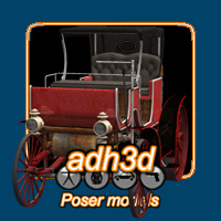 Steampunk carriage Themed adh3d