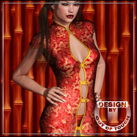 ORIENTAL for X02: Touched Themed Clothing outoftouch