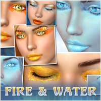 Fire And Water  2D Atenais